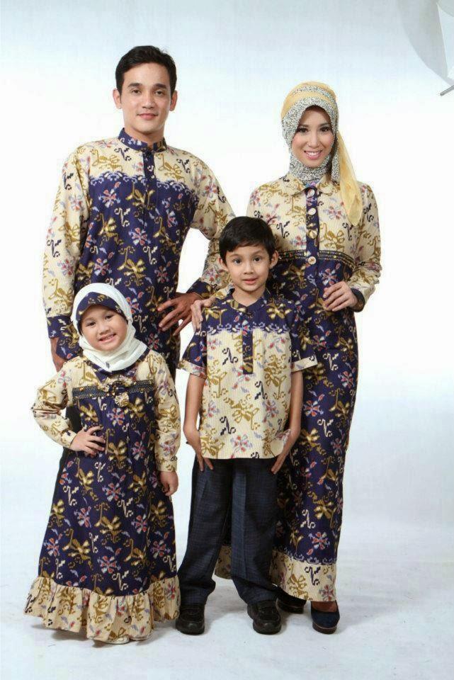 10 Contoh Model Baju Batik Muslim Anak Terbaik Insfirasi