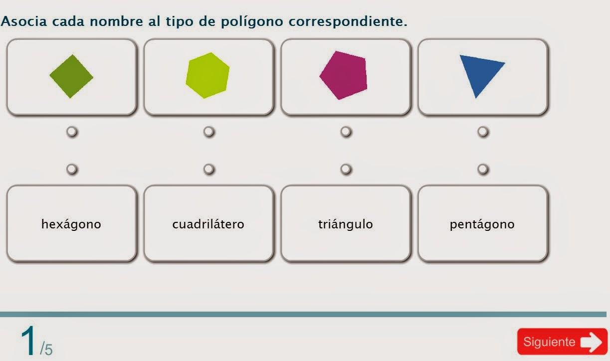 avaliación polígonos