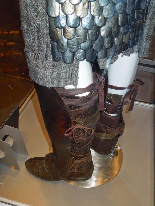 Moses boot costume detail Exodus