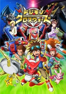 Digimon Adventure SS6 | Xros Wars | Digimon Fusion - Thế giới Digimon SS6 2011 Poster