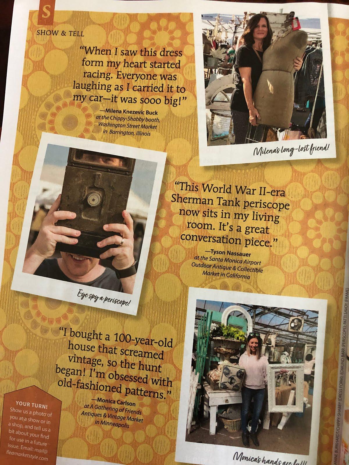 July/August Flea Market Style Magazine