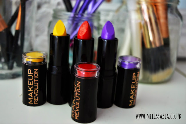 makeup revolution lipsticks