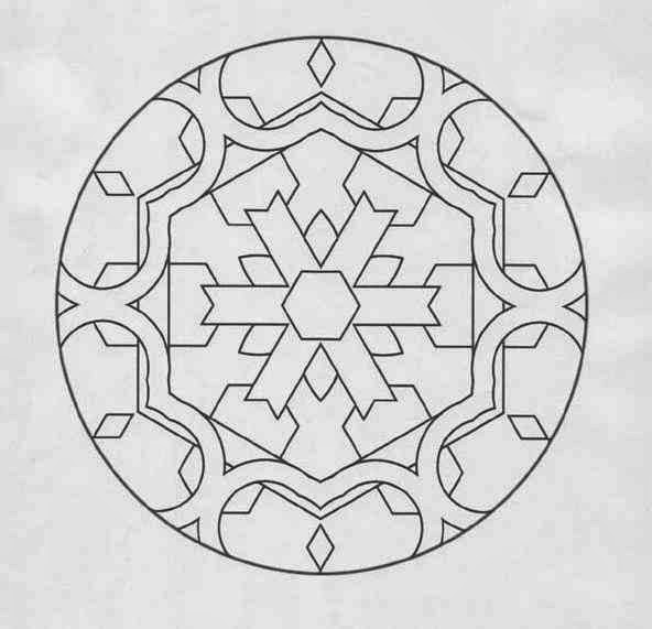 89 Modern Beginner Mandala Coloring Pages