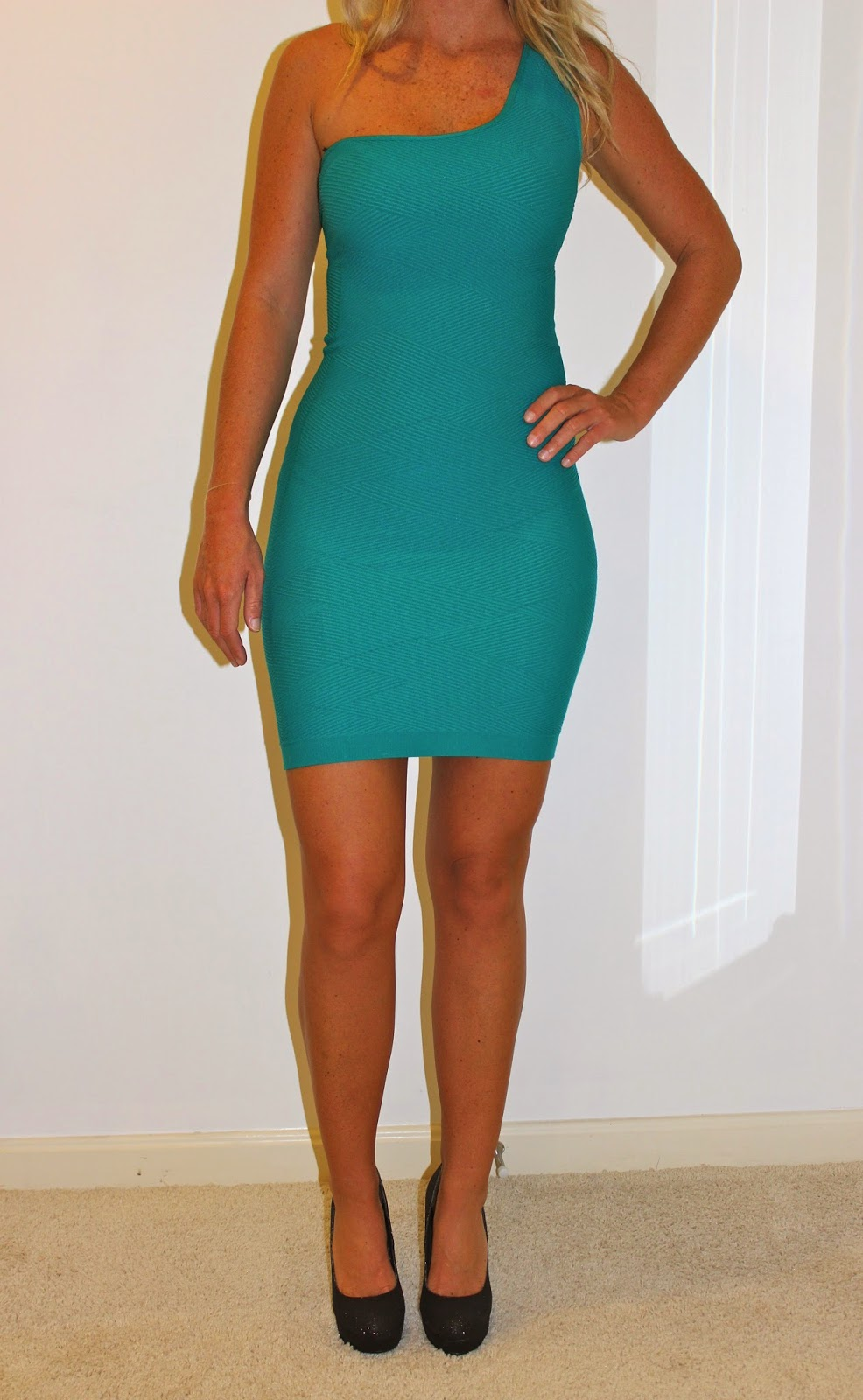 ebay guess teal dress