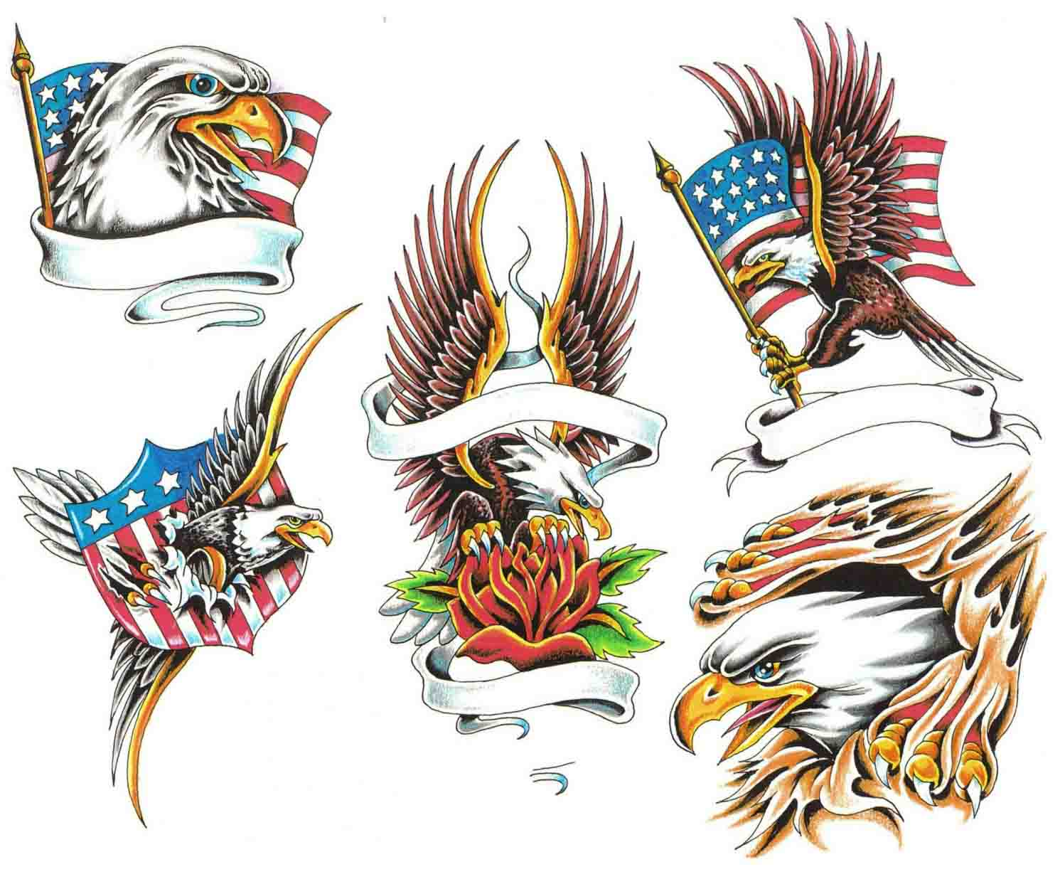 Tattooing Design: Attraction Of Eagle Tattoos Designs