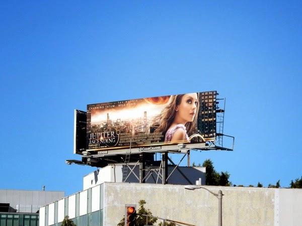 Jupiter Ascending film billboard