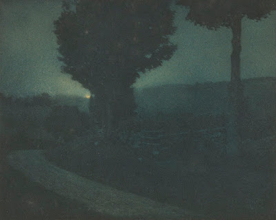 爱德华·史蒂琴's 'Road into the Valley' | Negative 1904 / Print 1906, 爱德华·史蒂琴 _ 入谷之路 _ negative 1904_ print 1906 _ commons.wikimedia.org.jpg