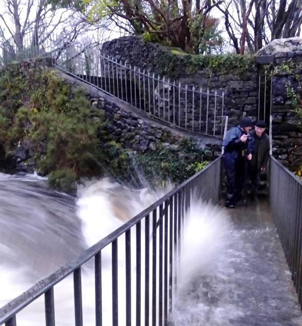 waterfall, storm desmond