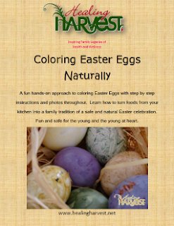 Coloring Easter Eggs Naturally