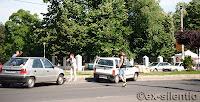 accident in Bucuresti Titan
