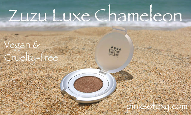Zuzu Luxe Chameleon Eyeshadow Review