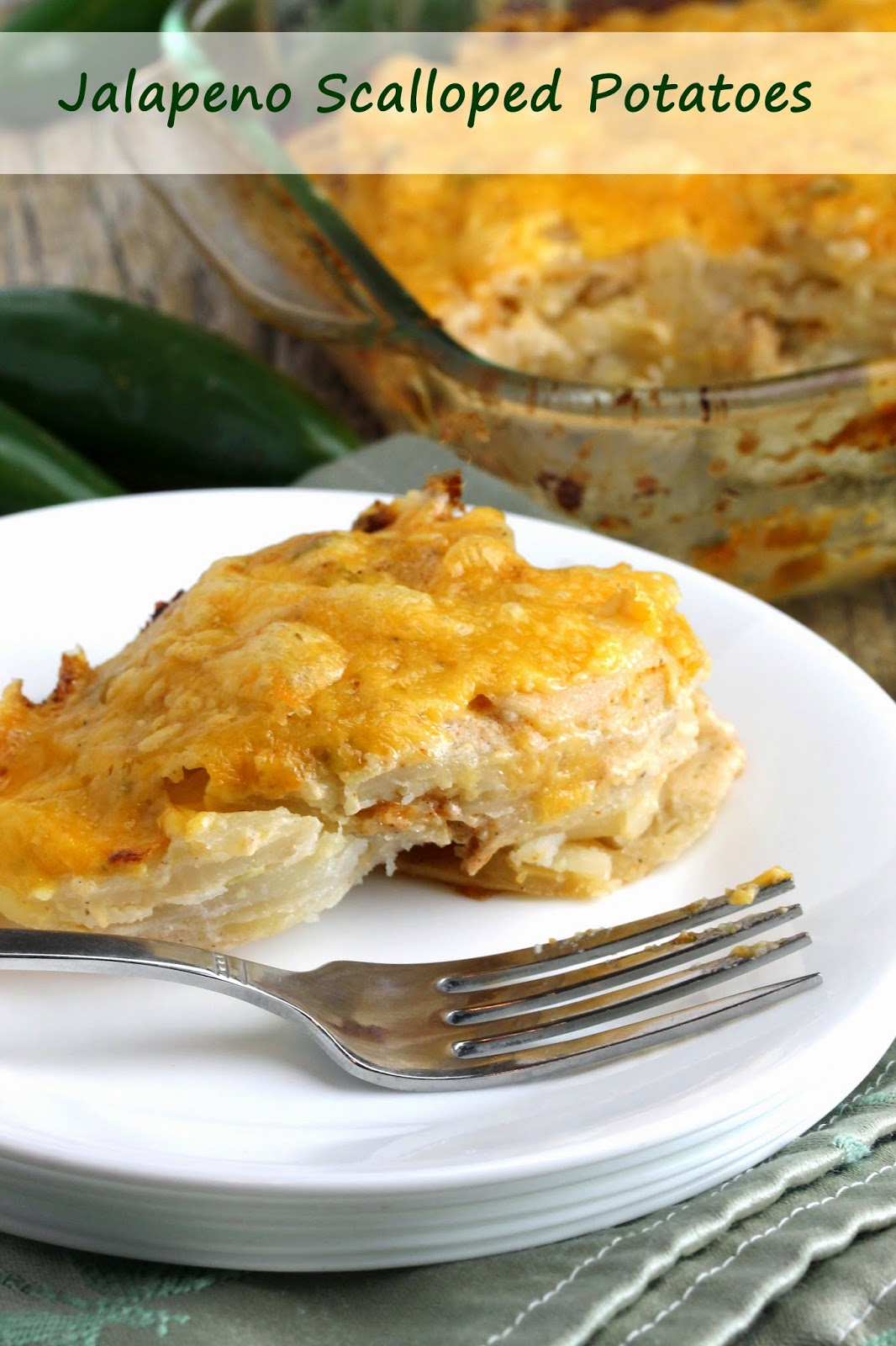 You realize you can never make scalloped potatoes any other way ...
