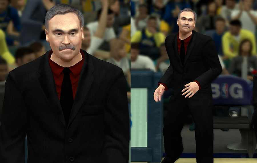 NBA 2K14 Mike D'Antoni Cyberface Patch