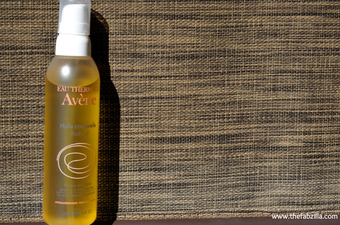 avene eau thermale body oil review