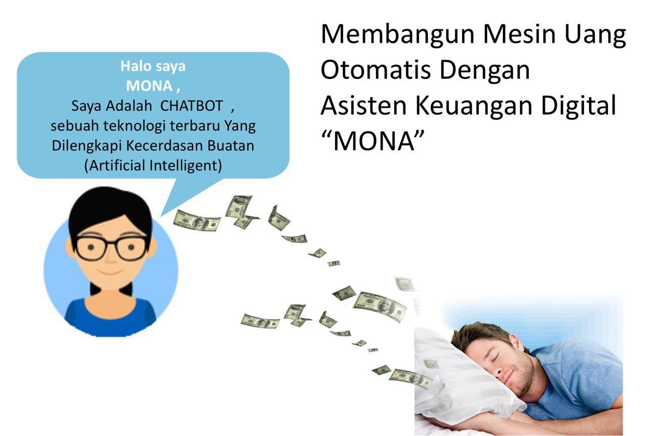 Meraih 220 juta Sebulan dg Robot Mona
