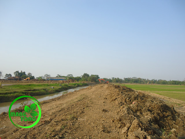 Tak ada gorong - gorong dari normalisasi sungai Ciasem
