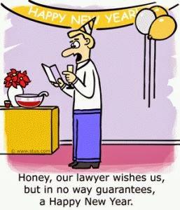 Lawyer\'s New Year Wish - Lawyer Jokes | Joke and SMS