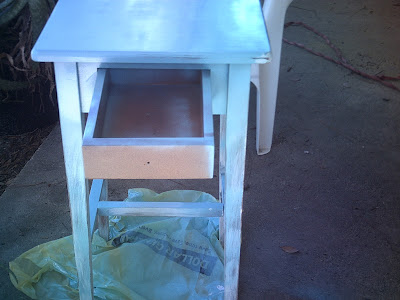 painting end table