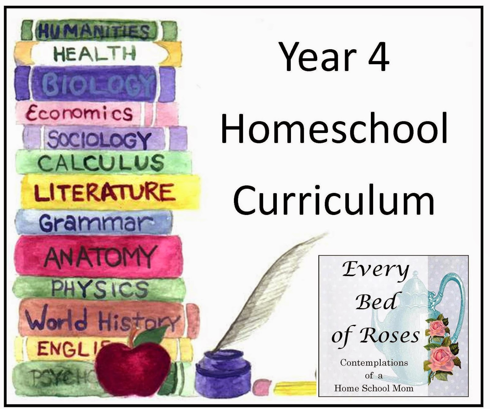 Every Bed of Roses: Year 4 Curriculum {NBTS}