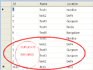 Remove Duplicate Rows Records from datatable