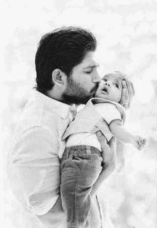 Allu Arjun With Son Ayaan