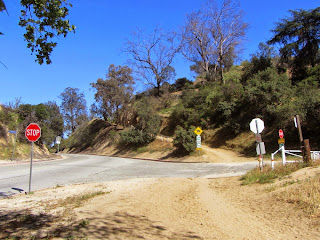 Junction of Oak Canyon Trail and Mt. Hollywood Drive, Griffith Park