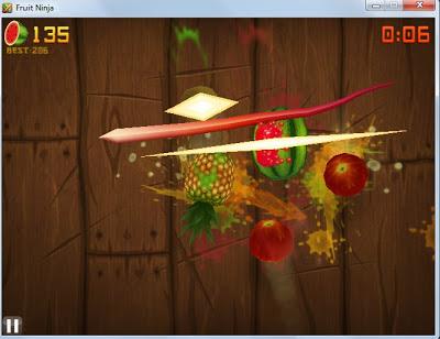 Demikianlah Ulasan singkat tentang Permainan Fruit Ninja HD untuk PC ...