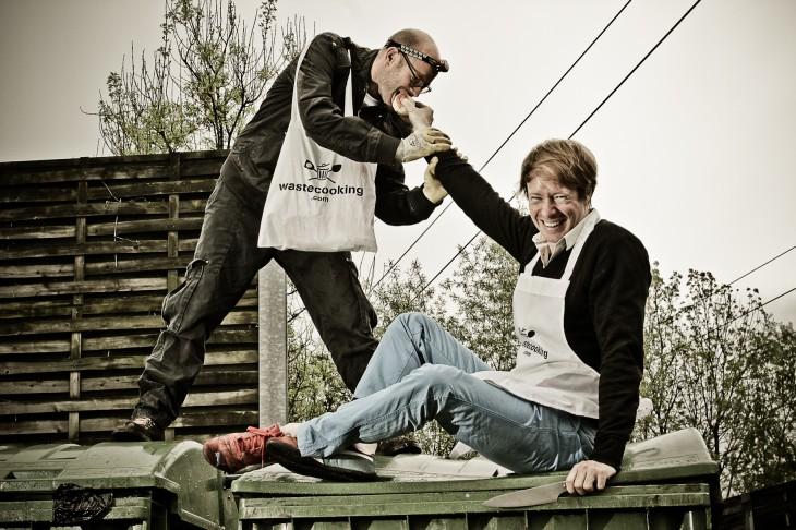 Waste Cooking: Un reality show sobre cocinar comida encontrada en la basura
