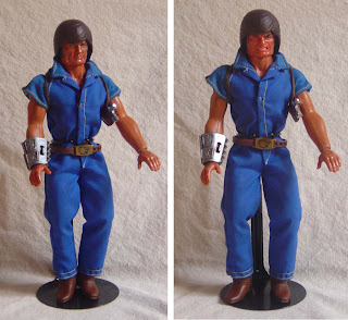 "Mattel's Big Jim PACK ""Commander"" Jim figure  - Double-Trouble version"