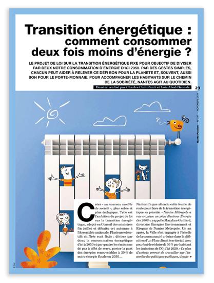 Illustration pour Nantes Passion - Transition énergétique