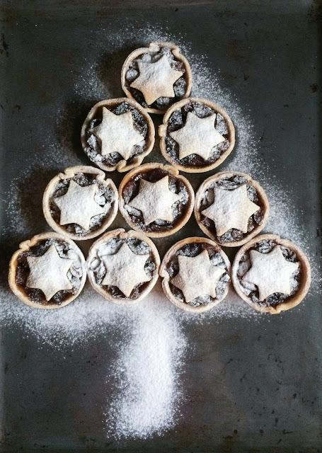 Mince pies - Pastelitos de Navidad