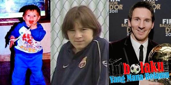 Inilah Video Debut Messi Dari Kecil Hingga Sekarang