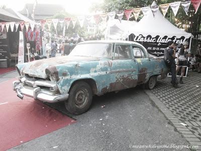 jogja classic autofest wreck car