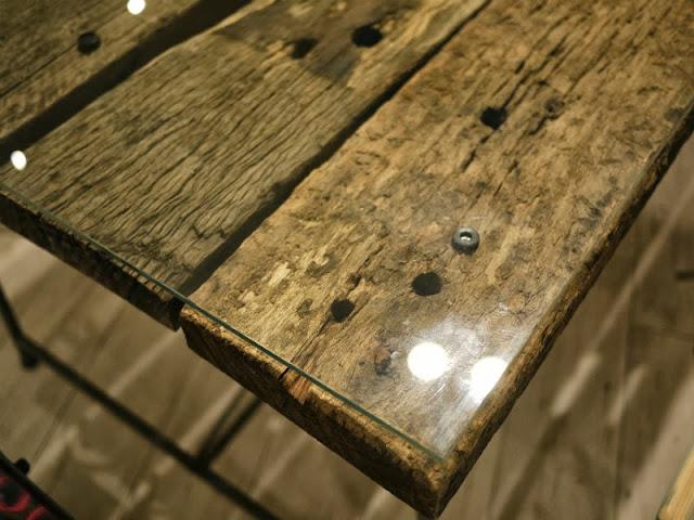 枕木テーブル ユーカリ 中古 オーストラリア