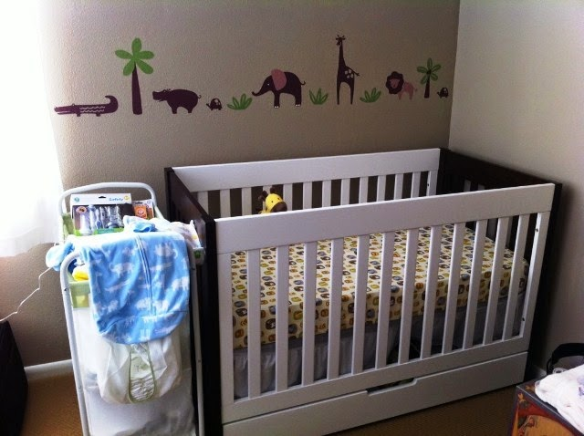 painting ideas for baby boy nursery