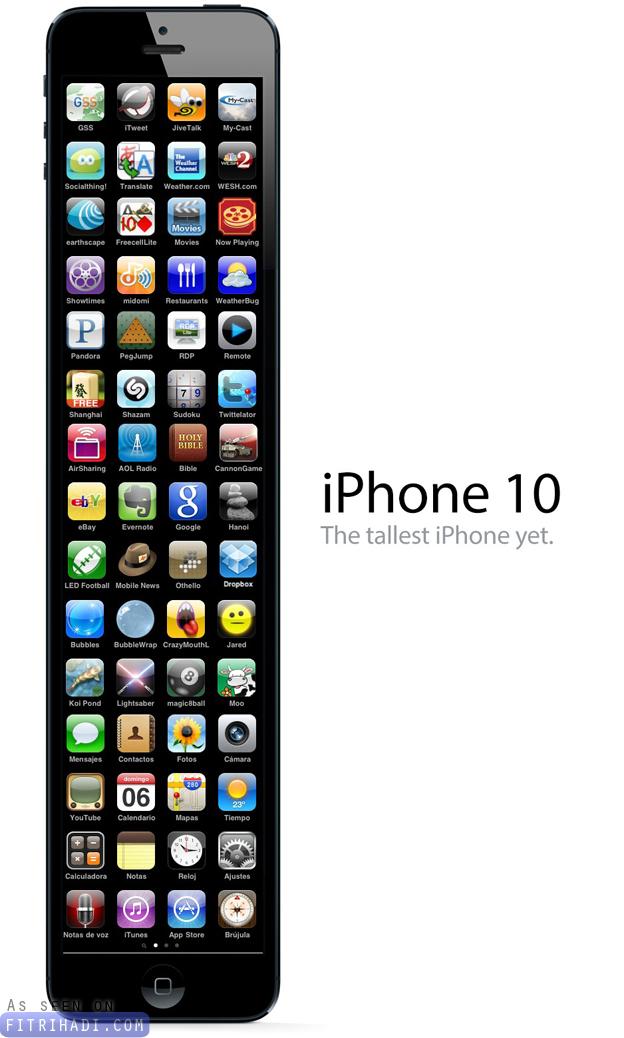 gambar koleksi parody iphone 5 panjang