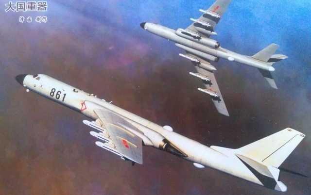 Chinese H-6K Badger Extended Range Strategic Bomber Spotted With 6x CJ ...