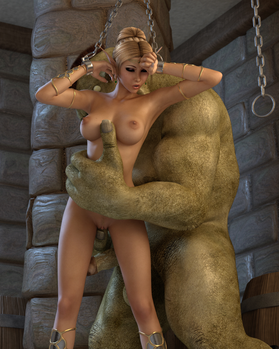 3d elf princess fucked by monster hentai erotica comics