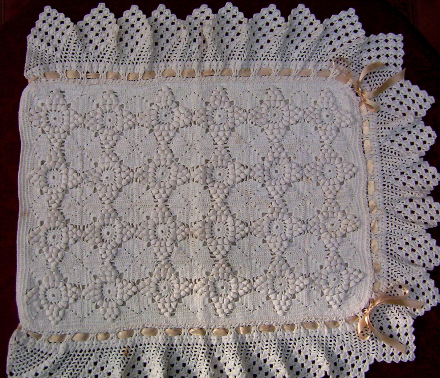 Colchas de carrito de beb de crochet imagui - Colchas ganchillo bebe ...