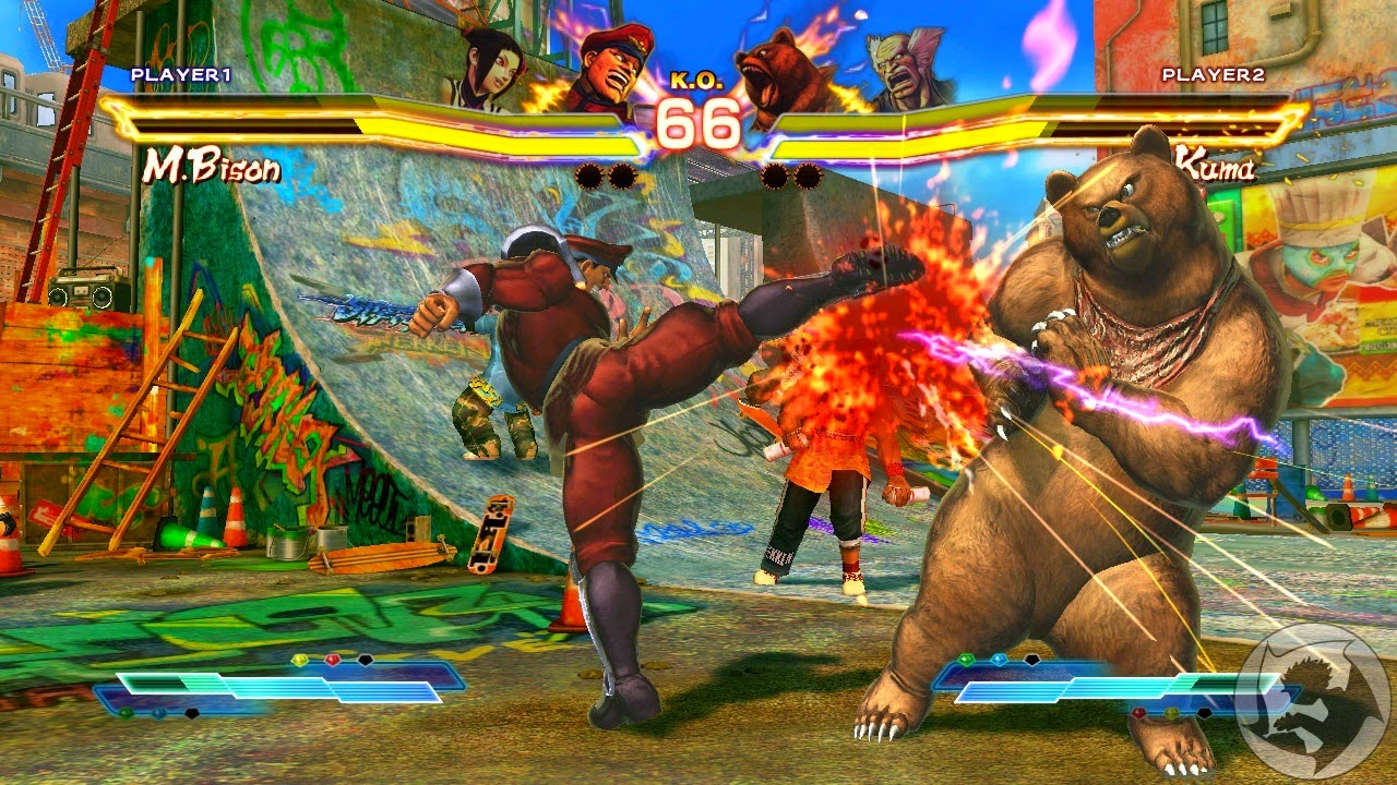 Tekken Vs Street Fighter Game