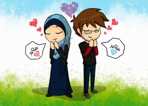 Romantis Anime Islam Menikah Check It Out Doa Kepada Muslim Yang Baru
