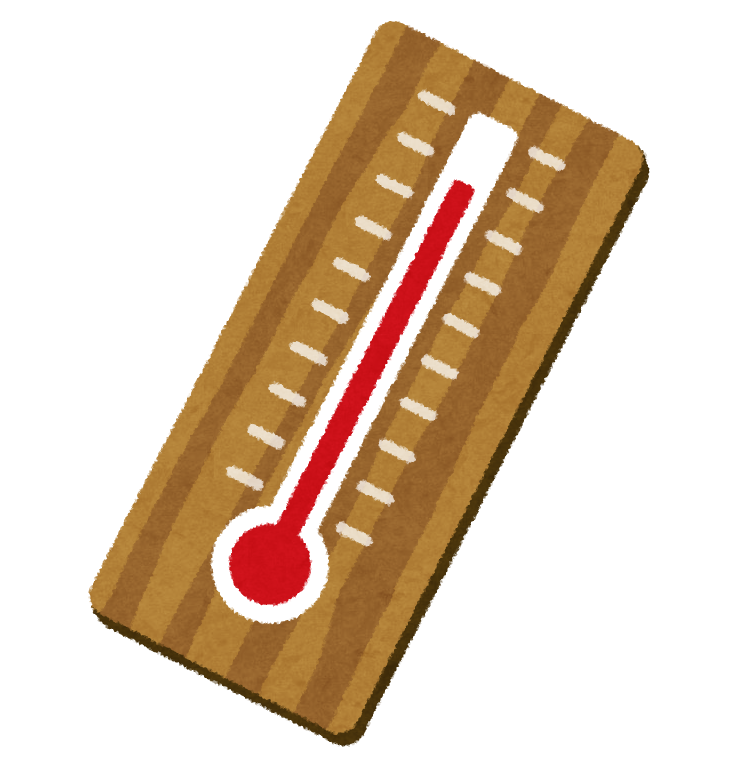 温度計のイラスト   かわいい ... : 年賀状 無料 素材 : 年賀状