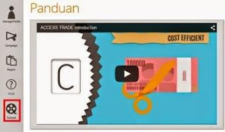 gambar panduan cara menghasilkan uang di access trade