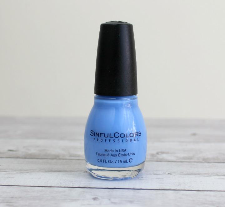 SinfulColors Professional Nail Color in Sail La Vie