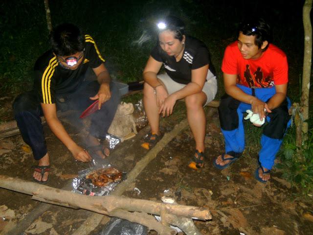 Mt. Manabu campsite