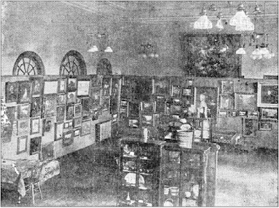 Interior photo of the Carnegie Library ca. 1912. The library was created by a community that valued libraries and making books available to the community. Courtesy of the City of Winnipeg Historical Report.