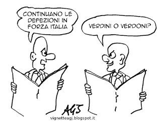 forza italia, riforme, trasformismo, satira vignetta