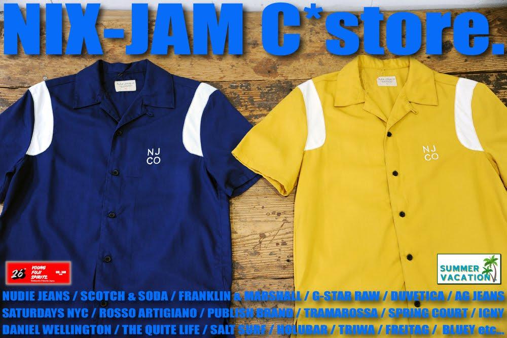 NIX-JAM C*store. Blog