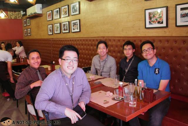 DJ de Jesus, Troy Palanca, Renz Cheng, Myles Sia and Emil Ong