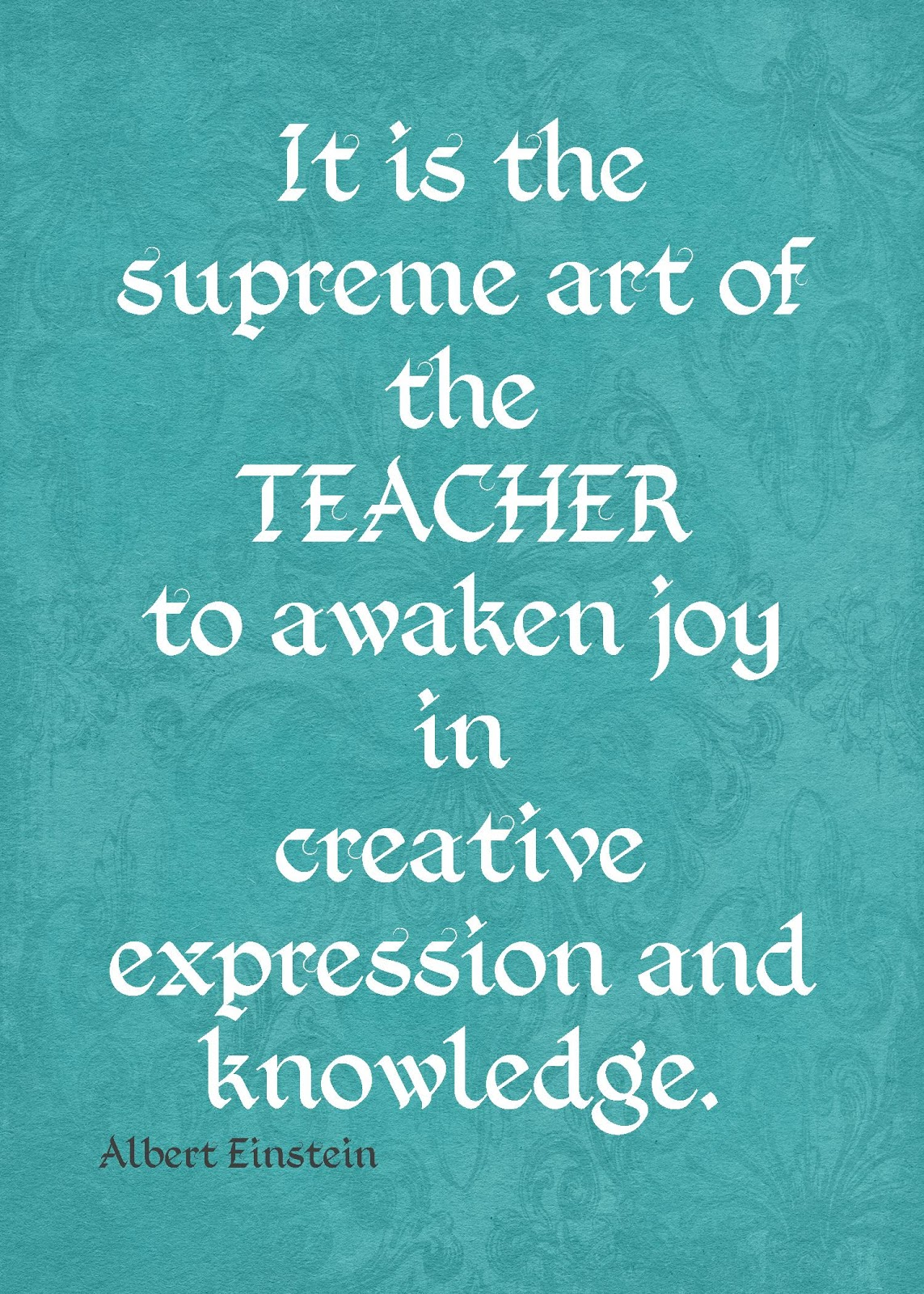 Famous teaching quotes